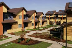 Clara Vista Townhomes 1st LEED Certified Housing Project in the United States