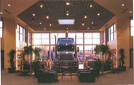 Freightliner Lobby Portland OR Renovation Rehabilitation Repair